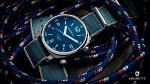 Magrette Timepeices -  dual time bluerope