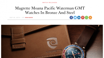 Waterman GMT on A Blog to Watch
